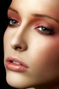 Вечерний макияж для русых.