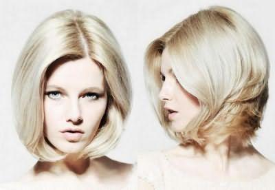 Средние волосы – практично и женственно