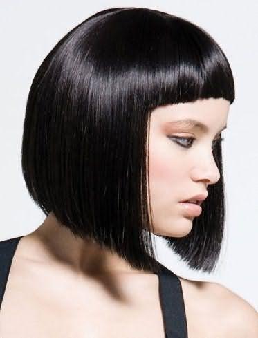 челка 2017 на средние волосы