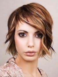 Рваная стрижка с укладкой для длинных волос