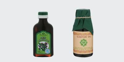 Репейное и касторовое масло