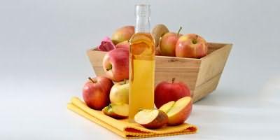 Яблоки и уксус для маски