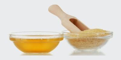 Маска для выпрямления волос с желатином
