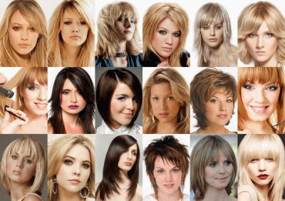 Фото филировки на волосах различной длинны