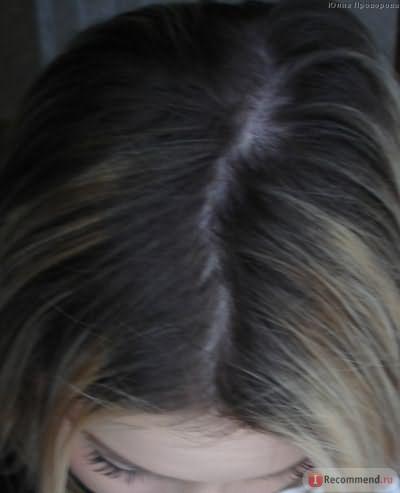 Волосы до покраски, мой натуральный