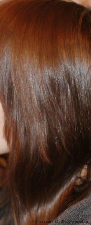 Глазирование волос на дому фото