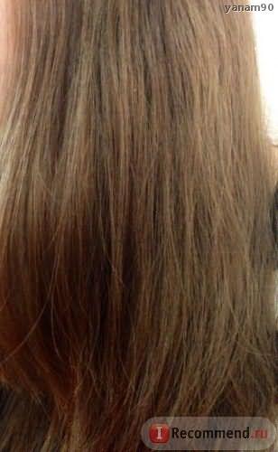Сухие волосы до глазирования