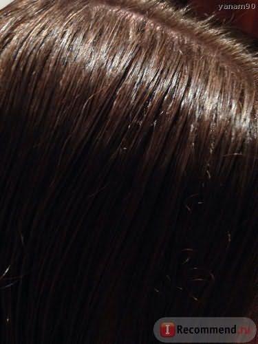 Свежевымытые волосы до глазирования