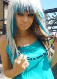 голубые волосы15