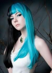 голубые волосы17