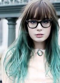 голубые волосы19