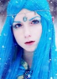 голубые волосы1