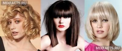 стрижка каре, градуированное каре, стрижки на средние волосы