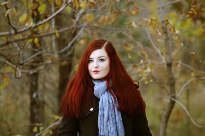 Волосы крашеные хной – это широчайшая палитра от светло-рыжего до насыщенного шоколадного