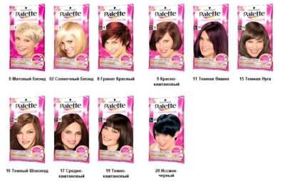 Оттеночный бальзам Palette придаст волосам новый цвет, не повреждая структуру волос.