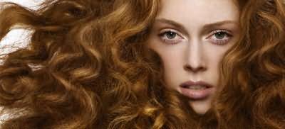 После использования Matrix волосы выглядят, как натуральные