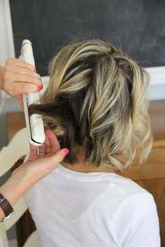 как накрутить короткие волосы в домашних условиях