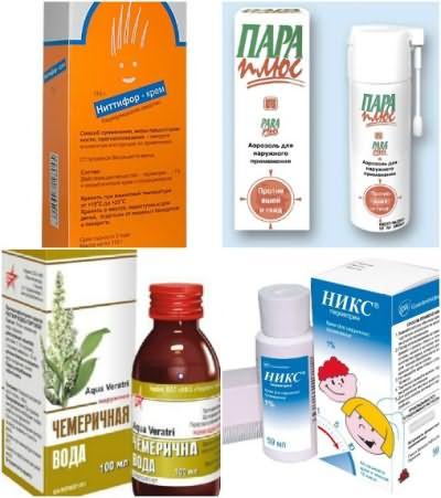 Аптечные препараты для лечения педикулеза