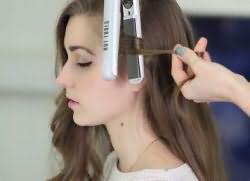 Как быстро накрутить волосы утюжком 1