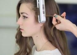Как быстро накрутить волосы утюжком 2