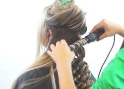 Как быстро накрутить волосы плойкой 1