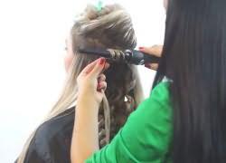Как быстро накрутить волосы плойкой 2