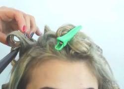 Как быстро накрутить волосы плойкой 3