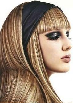 Неотразимый образ шикарной блондинки