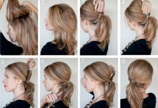 Начес на волосы средней длины: поэтапный фото урок