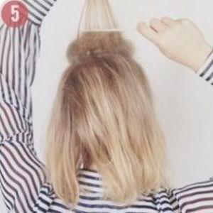 очень красивые прически для коротких волос 5
