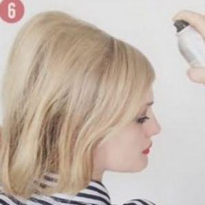 очень красивые прически для коротких волос 6