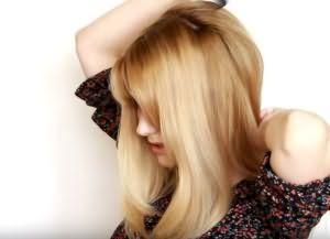 как сделать красивую укладку на средние волосы 3