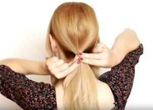 как сделать красивую укладку на средние волосы 4