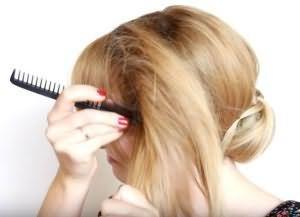 как сделать красивую укладку на средние волосы 10