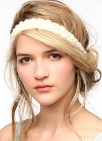 красивые укладки волос средней длины 3