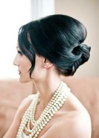 красивые укладки волос средней длины 5