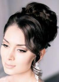 красивые укладки волос средней длины 7
