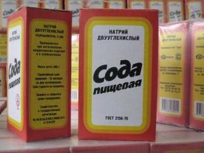 Натрий двууглекислый в народе известен, как сода пищевая