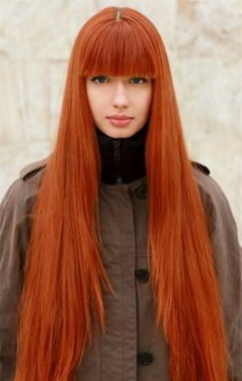 Хна для волос рыжаяы