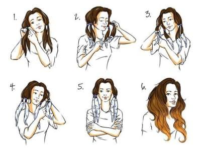 Пошаговая технология окрашивания кончиков волос в домашних условиях.