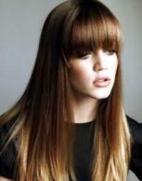 Окрашивание кончиков волос балаяж.