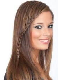 Косичка с распущенными волосами3