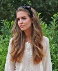 Как красиво заколоть длинные волосы