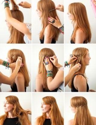 Как заколоть длинные волосы: пошаговая технология