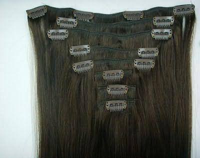 Фото набора волос на заколках