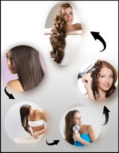 как завить короткие волосы плойкой