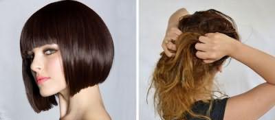 Стрижка для секущихся волос