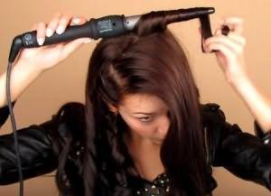 укладка волос средней длины своими руками 7