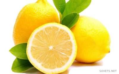 Осветление с помощью лимона