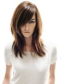 как подстричь длинные тонкие волосы 3